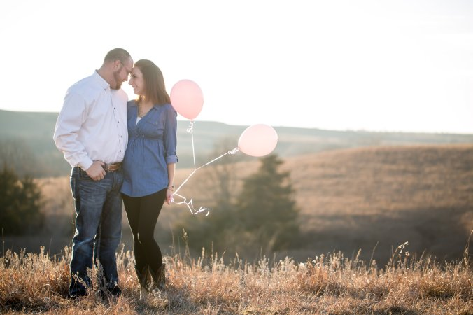 One of our beautiful gender reveal photos taken by the talented Wrenn of Wrenn Bird Photography.