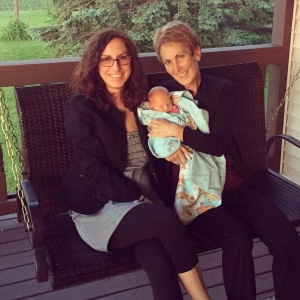 My beautiful mama and precious daughter. I am one lucky girl to have learned how to be a mother from one of the best.