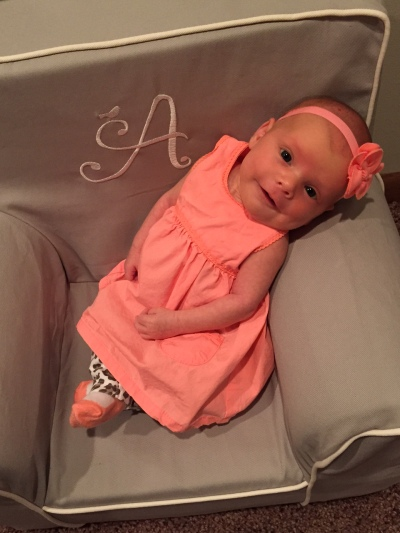 Lexi Rae turns 1 month old!