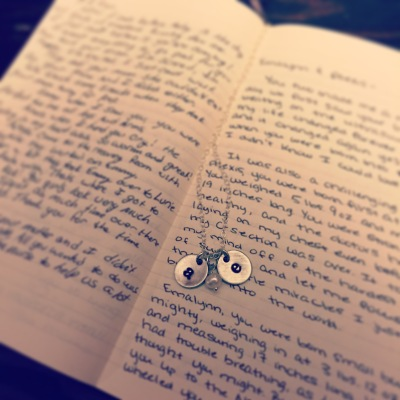 2015-08-10 21.28.46-1I kept this journal for the girls throughout our pregnancy. I know it is something Kade and I will always cherish, and I hope it is a treasure for Alexis one day as well.