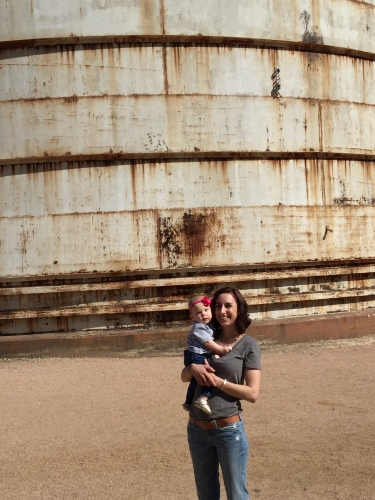 At THE Silos IRL. If I could love watching Fixer Upper any more…now I do.