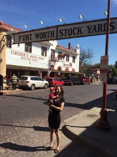 First time for Mama and Bitty at the Fort Worth Stock Yards! Highlight of the stop…finding a new Charlie book by Ree Drummond - our favorite books to read with daddy!