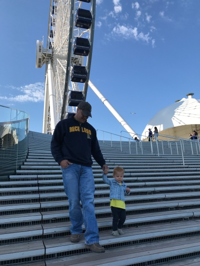 Lexi & Daddy Navy Pier 2017