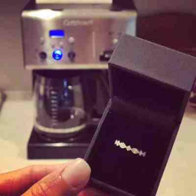 Coffee and diamonds.